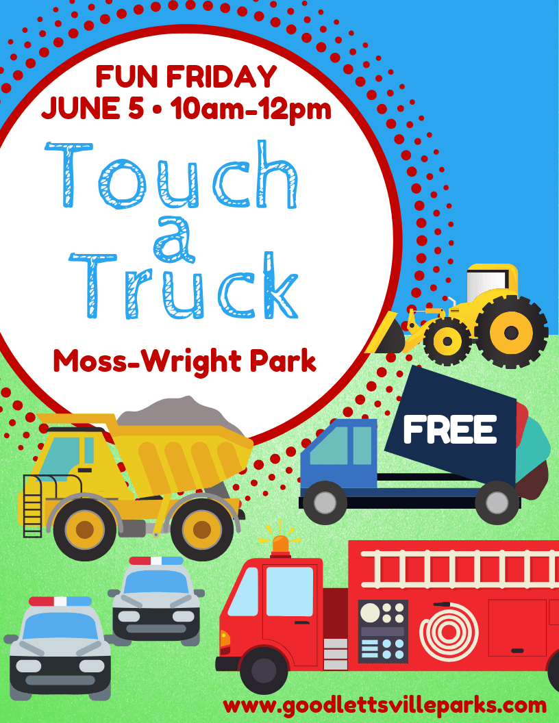 Fun Friday Touch a Truck 2020