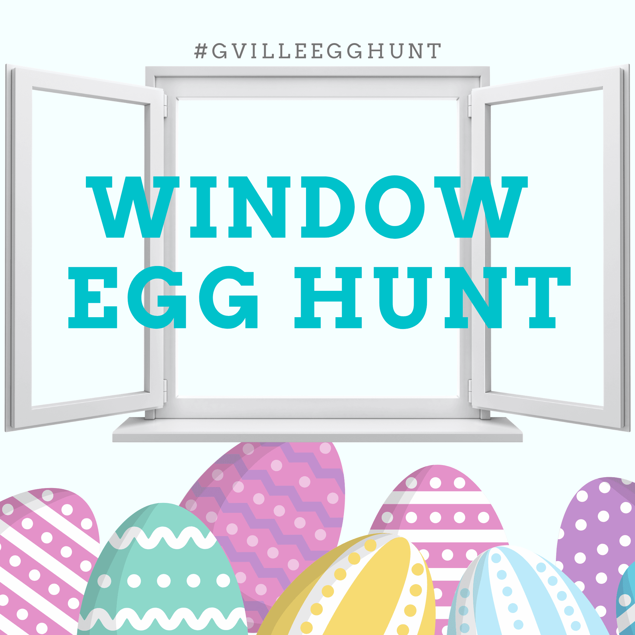 Window Egg Hunt