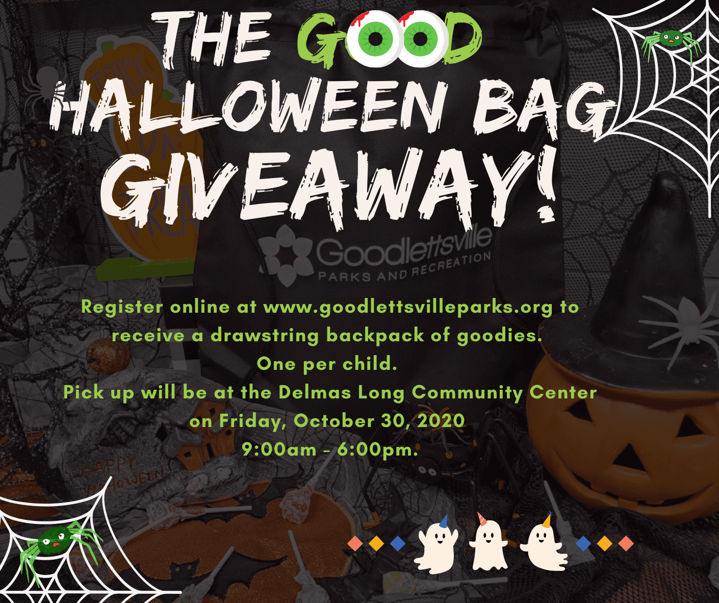 The GOOD Halloween Bag Giveaway
